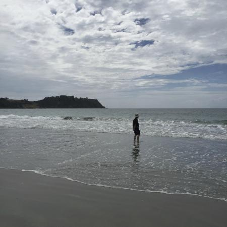 Isla Waiheke, Nueva Zelanda: Beach walking