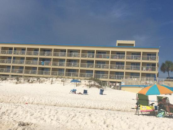 Panama City Resort and Club: Taken from the beach