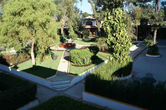 Villa Colonial: Pátio interno