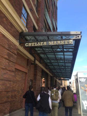 A fun way to spend a Sunday morning - Review of Chelsea Market