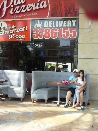 La Pizzeria : Nos encanto