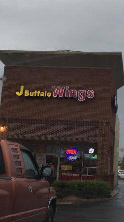 J buffalo wings cuming georgia