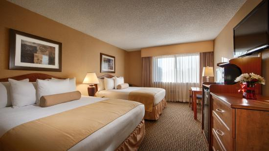 Best Western Plus Tempe By The Mall : Queen Queen Room