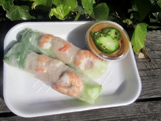 Shrimp Rolls (very good), New King Eggroll, Milpitas, Ca