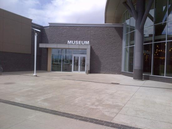 City of Waterloo Museum is Accessed next to the Food Court Entrance of Conestoga Mall
