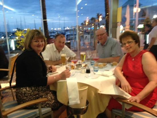 Il Lamparo: first class meal at