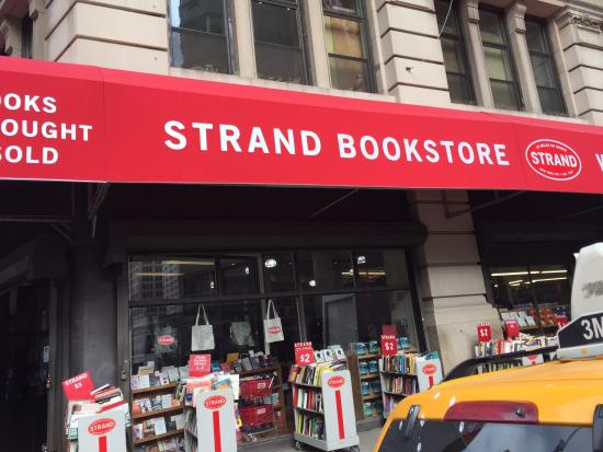 Photo of Bookstore Strand Bookstore at 828 Broadway, New York, NY 10003, United States