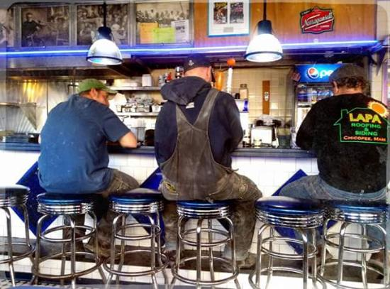 South Street Diner: the regulars were pretty entertaining