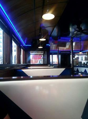 South Street Diner: blue!