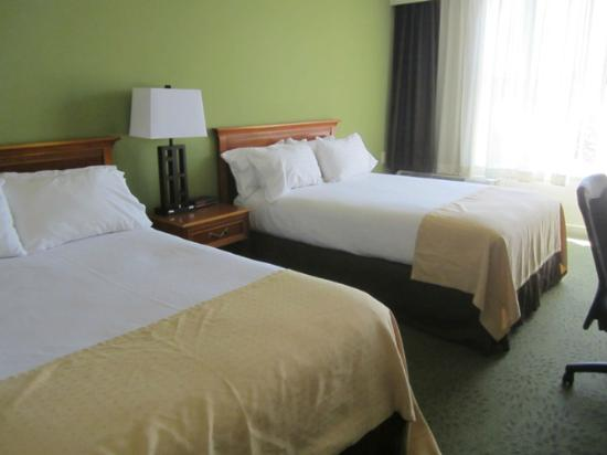 Holiday Inn Athens-University Area: Room was clean and simple.