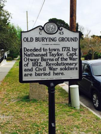 Beaufort Historic Site Old Burying Ground