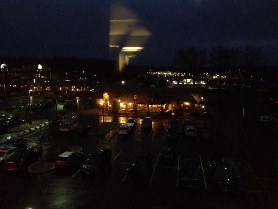 olive garden from room 401 at hampton inn - Olive Garden State College