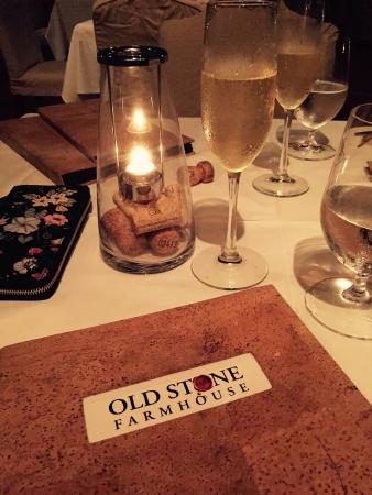 Old Stone Farmhouse: Beautiful location. Great service. Amazing food experience.