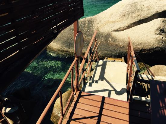 Charm Churee Villa: Our private start into the reef