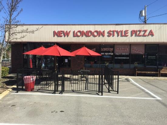 Acton New London Style Pizza: New outdoor seating!!