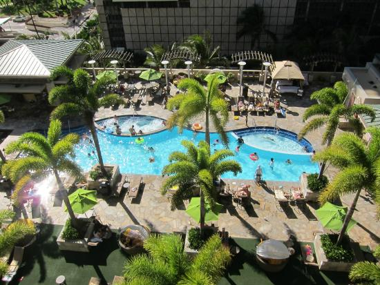 Pool View From Lanai Picture Of Embassy Suites By Hilton