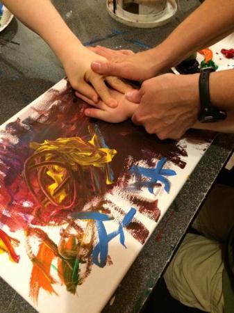 All About Art: handprints