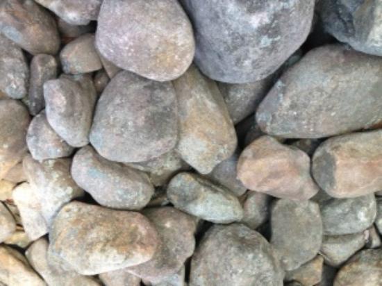 Pocono Mountains Region, Pennsylvanie : Closeup of Rocks