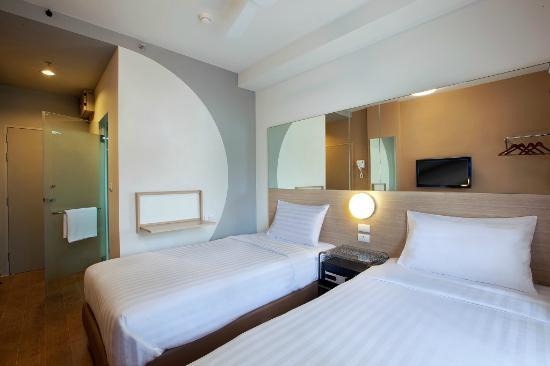 Red Planet Asoke, Bangkok: Standard Twin Room