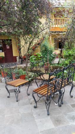 La Hostería de Anita: Área comum