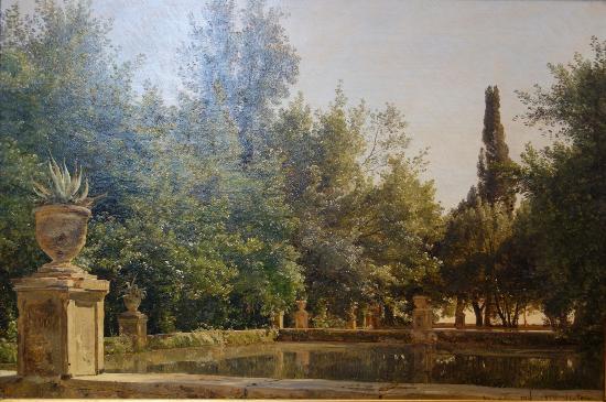 The Hirschsprung Collection (Den Hirschsprungske Samling): Janus la Cour: From the Villa d'Este