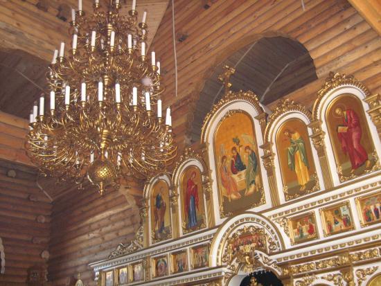 Туринск, Россия: В помещении храма