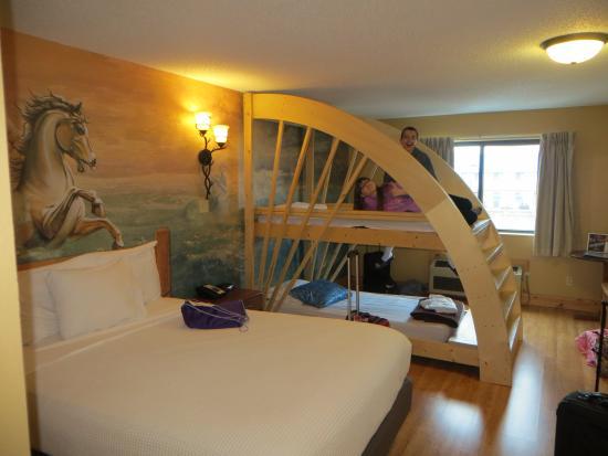 Bunk Beds Picture Of Mt Olympus Resort Wisconsin Dells