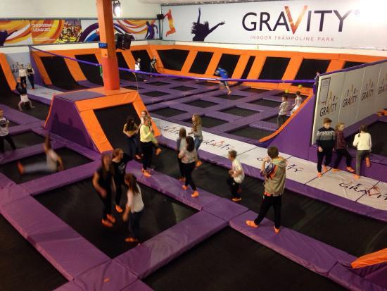 Gravity Trampoline Parks: Xscape Yorkshire