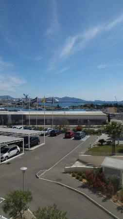 Ibis Budget Marseille l'Estaque: Vue de la chambre