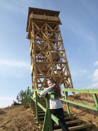 Wooden Observation Tower