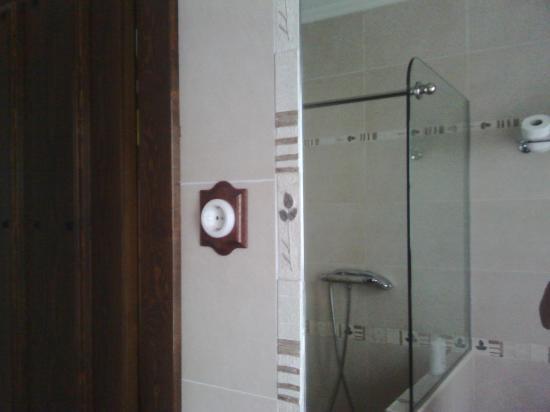 Hotel Lurdeia: Baño