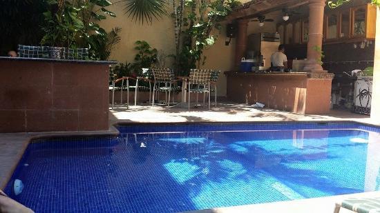 Hotel Mercurio: Pool area