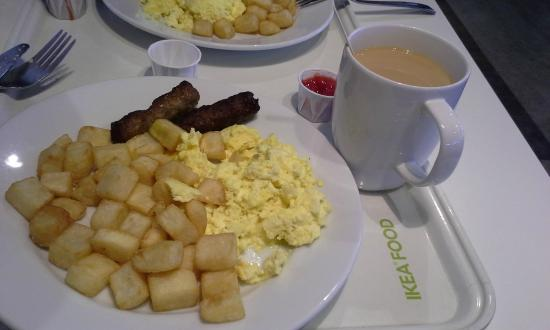 Ikea Coquitlam Food Court C 1 Breakfast With Free Coffee