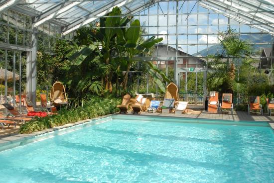 Bamboo Activ Resort: Bamboo pool&tropic garden