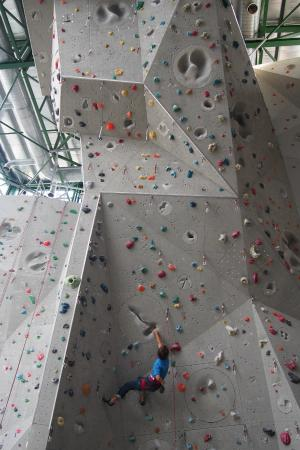 By the way that's CHRIS SHARMA climbing at camp5!