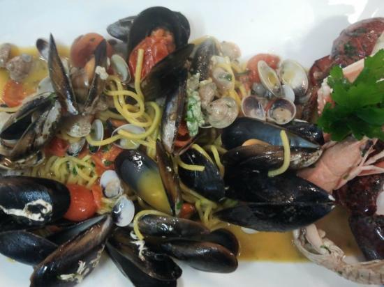Hotel Miramare: Spaghetti ai frutti di mare