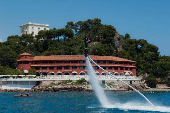 Monte Carlo Beach Flyboard At Club