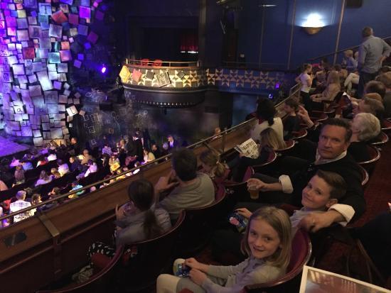 Dress Circle Seats Picture Of Matilda The Musical London Tripadvisor