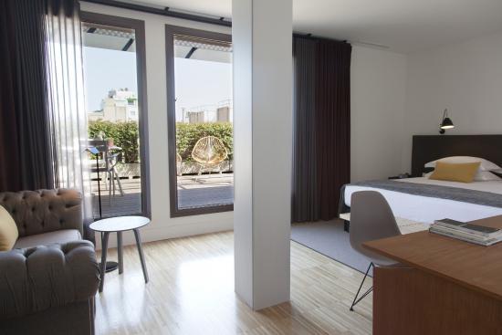 โฮเต็ล อเล็กซานดร้า บาร์เซโลน่า: Junior Suite Terrace