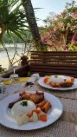 Silver Sea Phuket Beach Villa: Breakfast is served