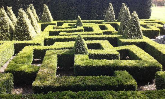 Bourton-on-the-Hill, UK: Knot Garden