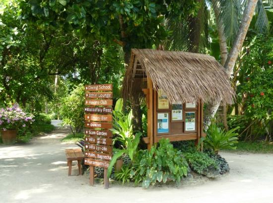 Kuramathi Island Resort - Grounds