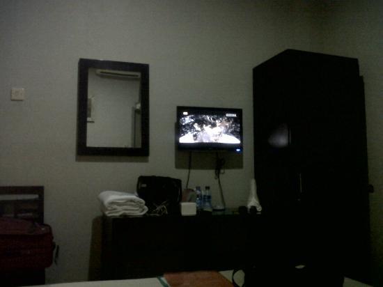 Bidari Hotel Lombok: Suasana kamar di lantai 2 Hotel Bidari Lombok