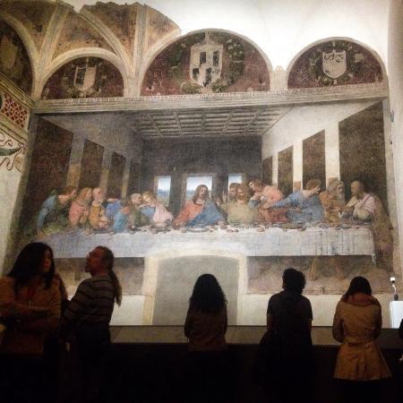 La Cène (Léonard de Vinci) : L'Ultima Cena di Leonardo da Vinci