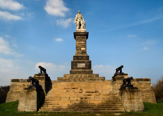 Tynemouth, UK: Admiral Lord Collingwood Memorial