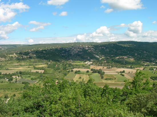 Camping des Sources : Balade autour du village de Gordes