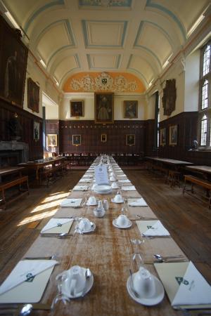 Jesus College, Oxford University: la Hall