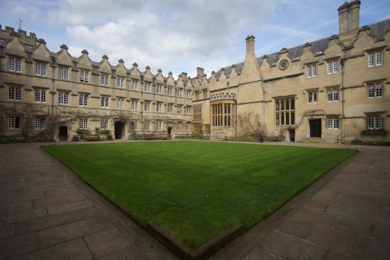 Jesus College, Oxford University: Uno dei cortili