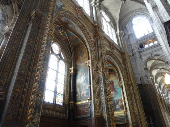 Paris, Frankrig: La Chiesa di Saint-Eustache