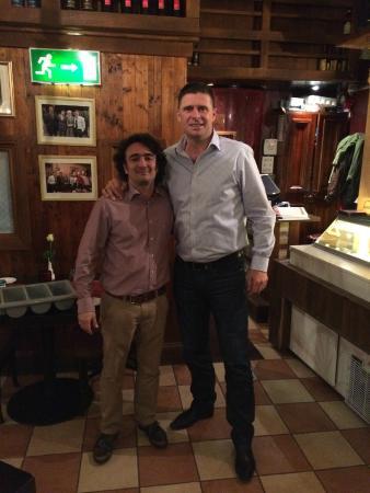 Emiliano's: Niall Quinn in emilianos